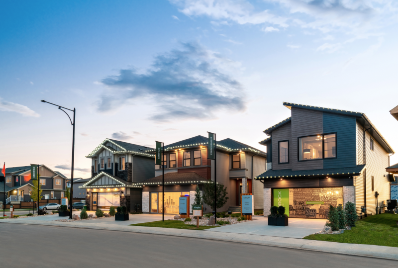 Front Garage Showhomes